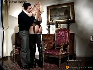 Blonde Busty Shemale Ass Drilled