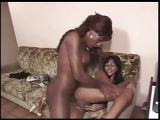 Interracial fucking of two Thotties