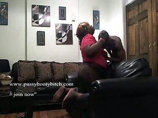 Ebony BBW tranny fuck