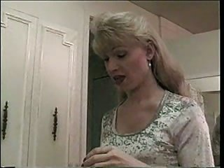 Kinky blonde tranny fucks hot guy