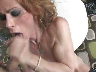 Busty shemale idol Jasmine fucked
