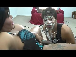Big dickes ebony TS fucking dominated guy