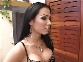 Latina TS cock riding