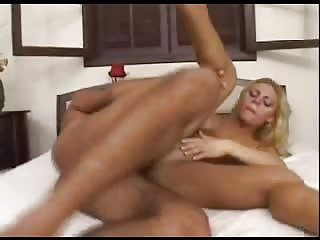 Sexy blonde ass licked & penetrated