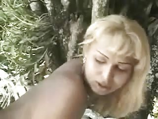 Outdoor riding for a sex hungry latina TS