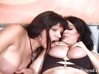 Two shemales having oral sex