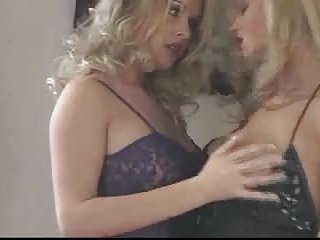 Excellent condom banging for blonde shemale and girl