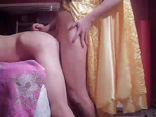 Turkish tranny Ela fucks client
