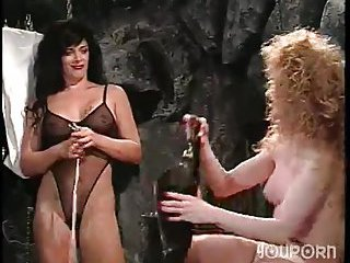 Vintage tranny and chick domination video