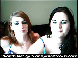 Teen shemales webcam twosome