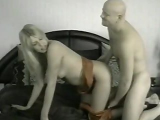 Transsexual Beauty Queen Sucks and Fucks