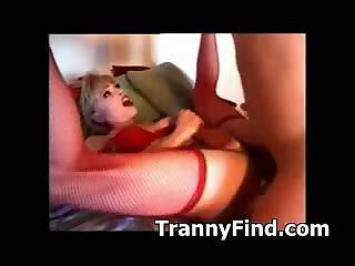 Tranny gets fucked