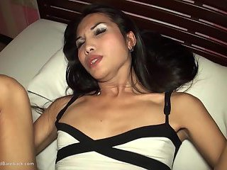 Ladyboy Bam Big Cock Swallow