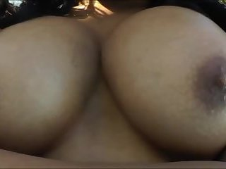 Luscious black TS Sasha Strokes puts up an awesome masturbation show