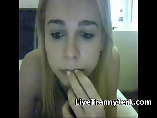 Teen trap webcam teasing - sm