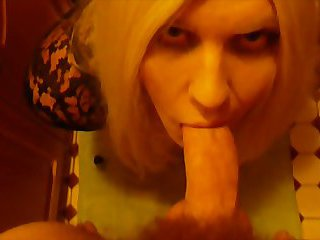 CD popper whore sucking and getting fucked