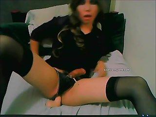 PAulina doll Hands free cum - ASS CUMMING