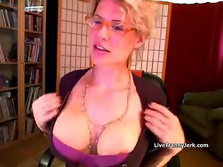 Webcam tranny amazing solo