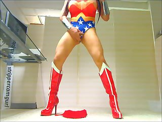 Wonder woman tranny