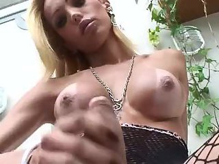 Sexy Renata Tugging Dick
