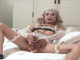 Hot Mature Japanese Lady Cumming