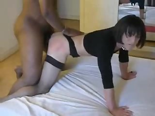 Cd takes black cock