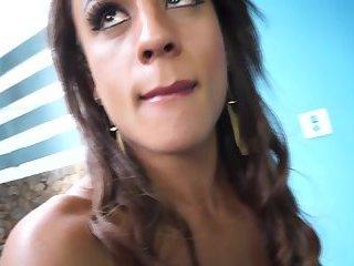 Latina TS Barbara Bianchini Bareback