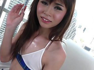 Johnny fucks an asian ladyboy