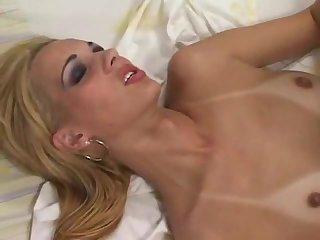 Beautiful Blonde Shemale Renata