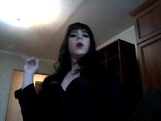 Beauty Kristi smoking