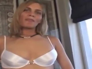 Hot Blonde Gets Face Cum