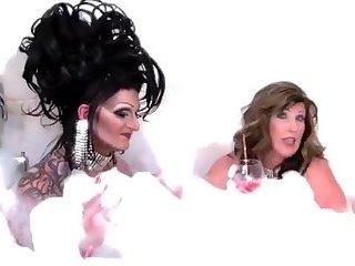 Bath Tub With a Drag Queen