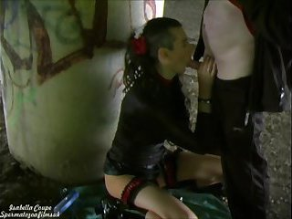 British Tgirl Isabella loves Kinky outdoor sex