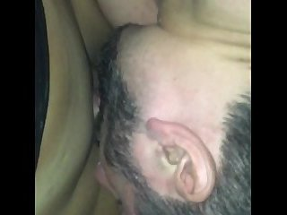 Suckin Dick in a car of tranny Hoover