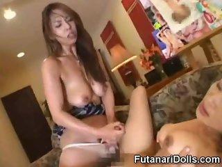 Dirty Futanari Cumshots Compilation