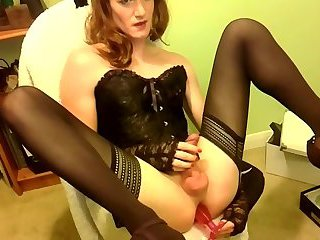 Corset Closeup Dildo and Cumshot, Amateur Porn