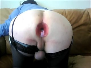 Ass pussy play