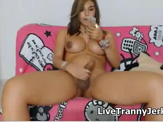 Hot Latina Shemale