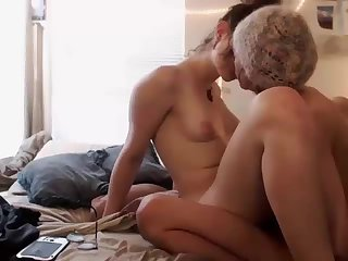 Well hung tranny fucking her man