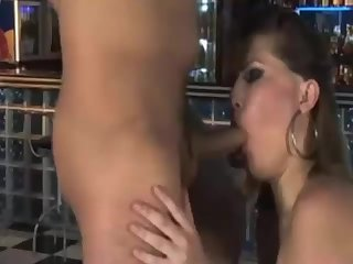 Male Pole Dancer Gets His Reward