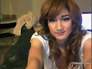 Teen CD webcam solo