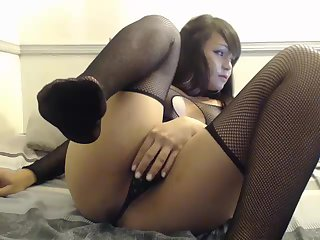 Beautiful Brunette Cam Show With The Most Amazing Ass