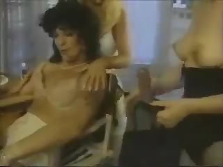 Man into woman and fucked by girls