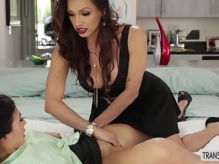 Hot brunette Heather gets an intense fucking with Jessy Dubai