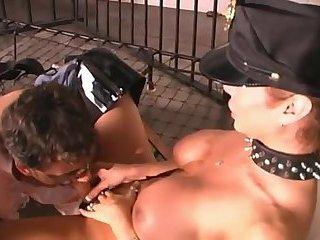 Cop dominates guy in prison