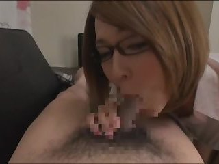 Gorgeous Office Ladyboy