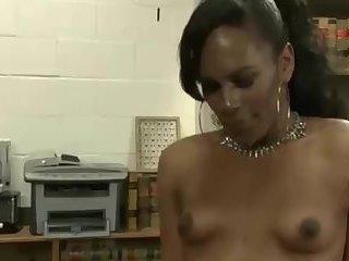 Ebony Beauty Fucks her Man