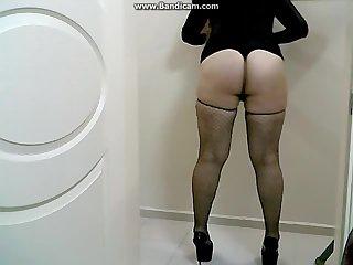 Amateur crossdresser big ass