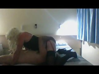 Rasta guy fucks crossdresser whore