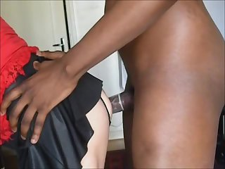 Lara gets fucked by BBC and swallows cum